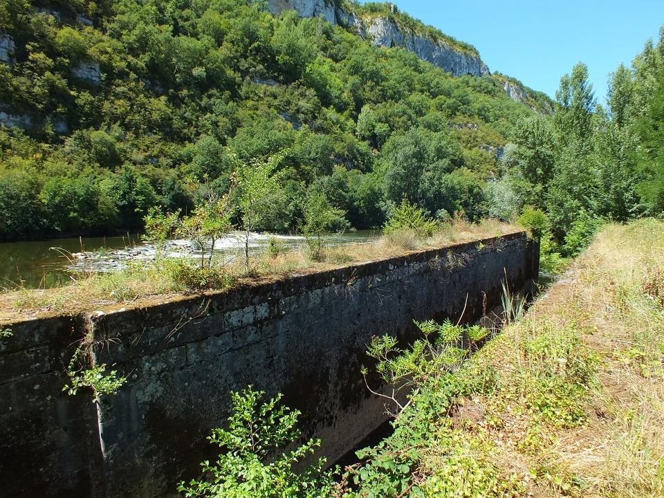 Écluse de La Barasquie à Montbrun dans le Lot