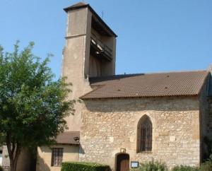 Église Saint-Laurent à Anglars-Juillac (Anglars) dans le Lot