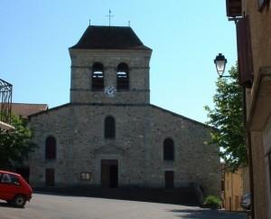 Église Saint-Pierre à Bagnac-sur-Célé