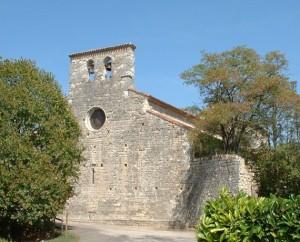 Église Saint-Aignan à Bélaye dans le Lot