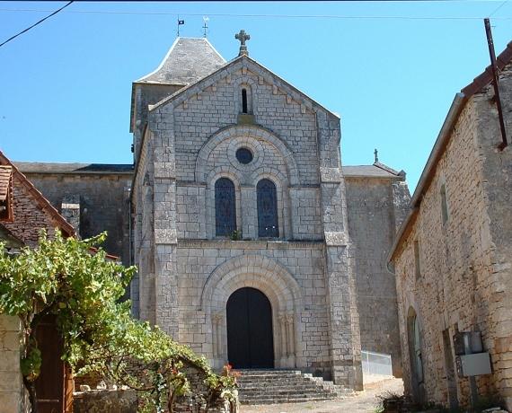 Église Saint-Laurent à Blars dans le Lot