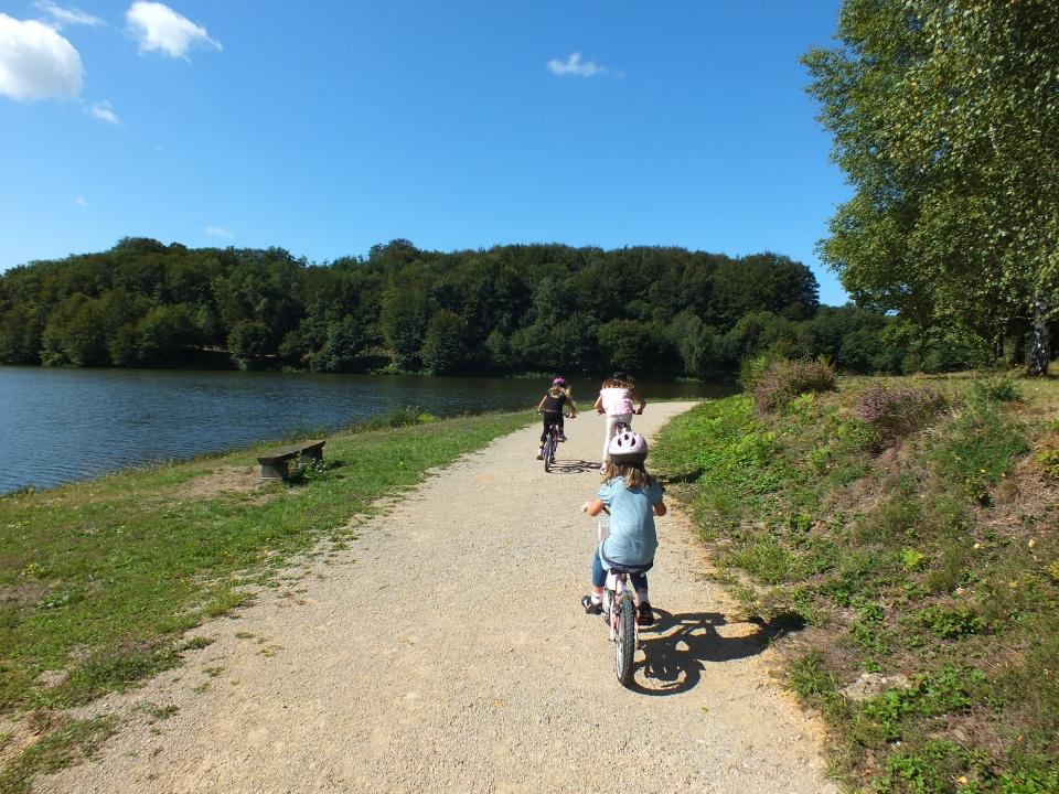 Tour à VTT du Lac de Tolerme à Sénaillac-Latronquière