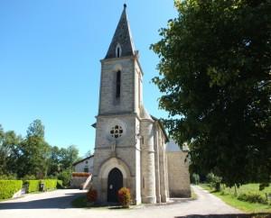 Église de Boussac (bourg) dans le Lot