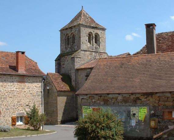 Église Sainte-Croix du Bouyssou (bourg)