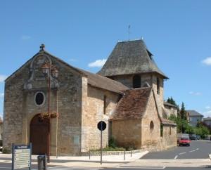 Église Sainte-Catherine à Bretenoux dans le Lot