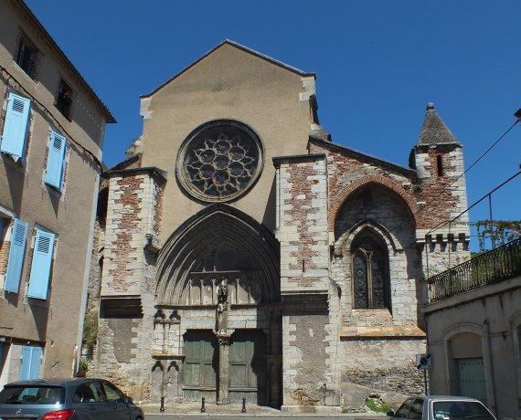 Église Saint-Urcisse à Cahors dans le Lot