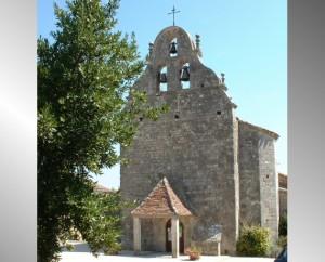 Église de la Chaire Saint-Pierre à Cambayrac dans le Lot