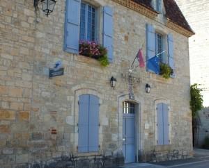 Mairie de Castelfranc dans le Lot