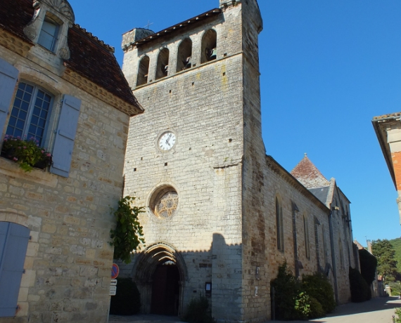 Église Notre-Dame de l'Assomption à Castelfranc dans le Lot