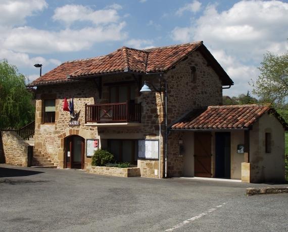 La mairie de Saint-Félix dans le Lot