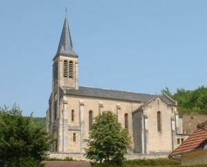 Église du bourg de Concorès dans le Lot