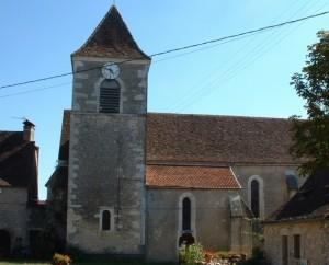 Église de Couzou (bourg) dans le Lot