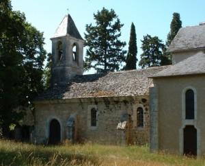 Église de La Pannonie à Couzou dans le Lot