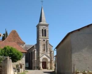 Église de Cras (bourg) dans le Lot
