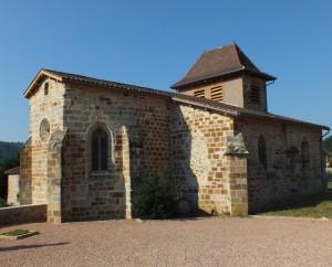Église Saint-Saturnin à Cuzac (bourg) dans le Lot