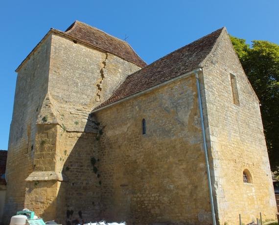Église Notre Dame à Fajoles dans le Lot