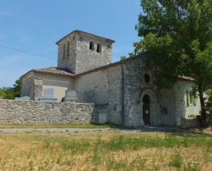 Église Saint-Martin de Capmié à Flaugnac