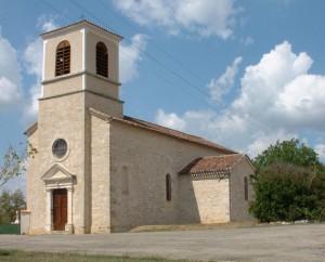 Église Saint-Martin à Flaujac-Poujols (Le Colombier) dans le Lot