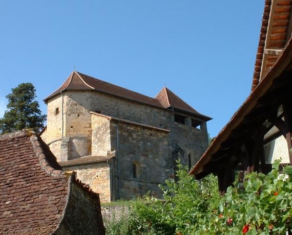 Église Saint-André à Fons dans le Lot