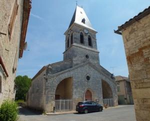 Église Saint-Clair à Fontanes (bourg) dans le Lot