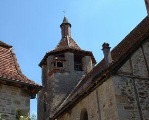 Église Saint-Martin à Gagnac-sur-Cère (bourg) dans le Lot