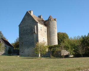 Château de Ginouillac dans le Lot