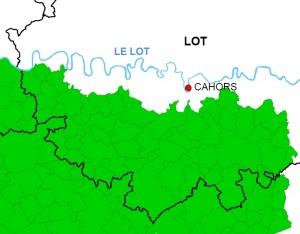 Aire géographique du Melon du Quercy