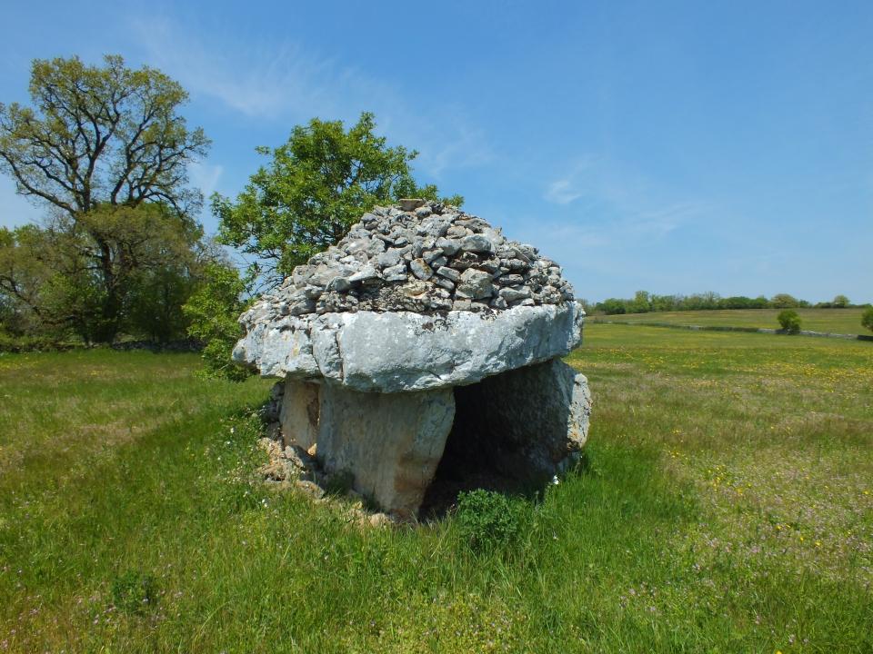 Le dolmen du Verdier à Durbans dans le Lot