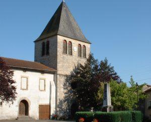 Église Notre-Dame à Gorses dans le Lot