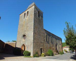 Église Saint-Pierre-Ès-Liens à Goujounac dans le Lot
