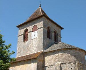 Église Saint-Julien à Issendolus dans le Lot