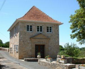 Mairie d'Issendolus dans le Lot