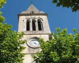 Église de Labastide-Murat (bourg) dans le Lot