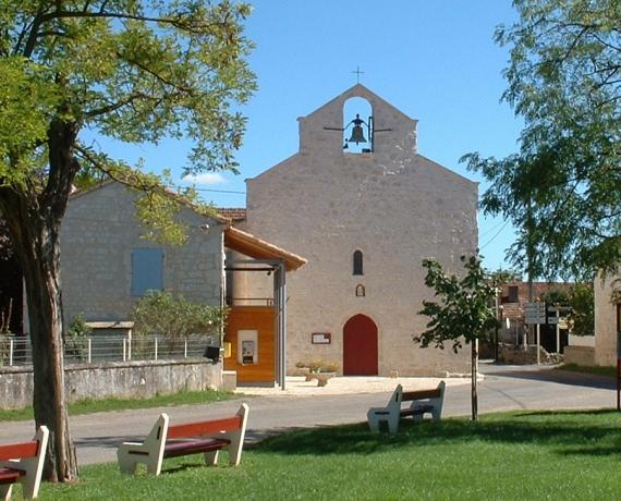 Église de Laburgade dans le Lot