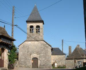 Église de Lacam d'Ourcet (bourg)