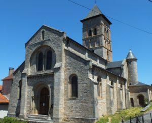 Église Saint-Rémy à Livernon (bourg) dans le Lot