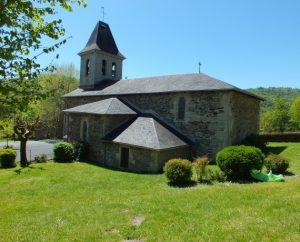 Église de Latouille-Lentillac (bourg) dans le Lot