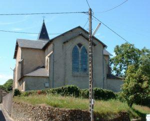 Église de Lauresses dans le Lot