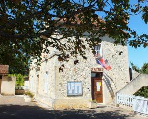 Mairie de Lavercantière dans le Lot