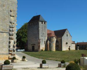 Église Saint-Quirin à Lavercantière
