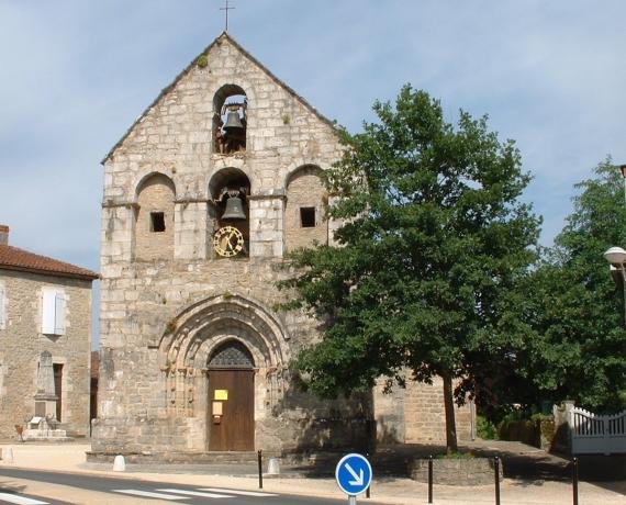 Église Saint-Blaise à Lavergne dans le Lot