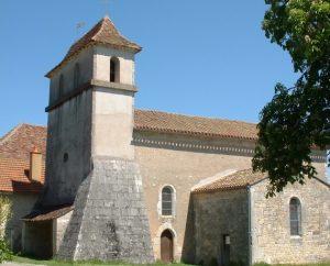 Église Saint-Pierre à Lentillac-du-Causse