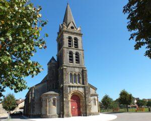 Église Saint-Blaise à Lentillac-Saint-Blaise