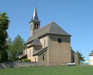 Église de Leyme dans le Lot