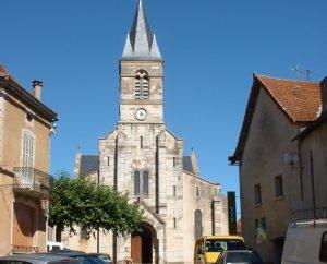 Église Saint-Blaise à Limogne-en-Quercy dans le Lot