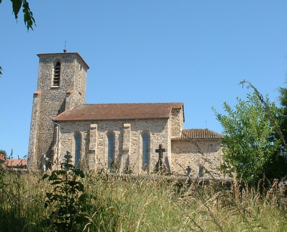 Église Saint-Georges à Linac dans le Lot