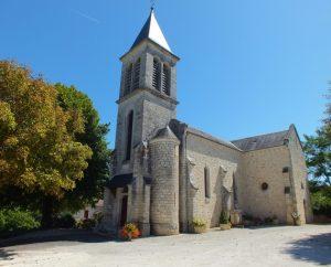 Église de Loupiac dans le Lot