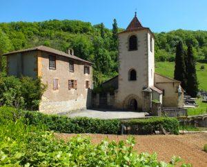 Église Saint-Martin à Lunan (Saint-Martin) dans le Lot