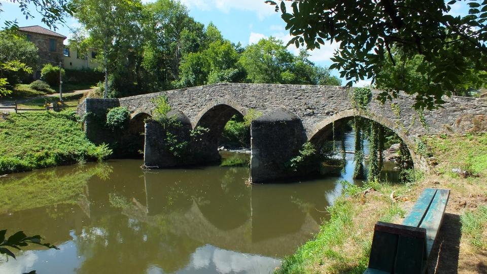 Le pont médiéval de Bagnac-sur-Célé (Lafage)