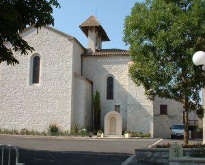 Église Saint-Denis à Saint-Daunès dans le Lot